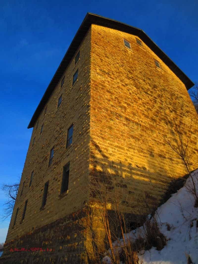 Golden Light on Mill - 2013
