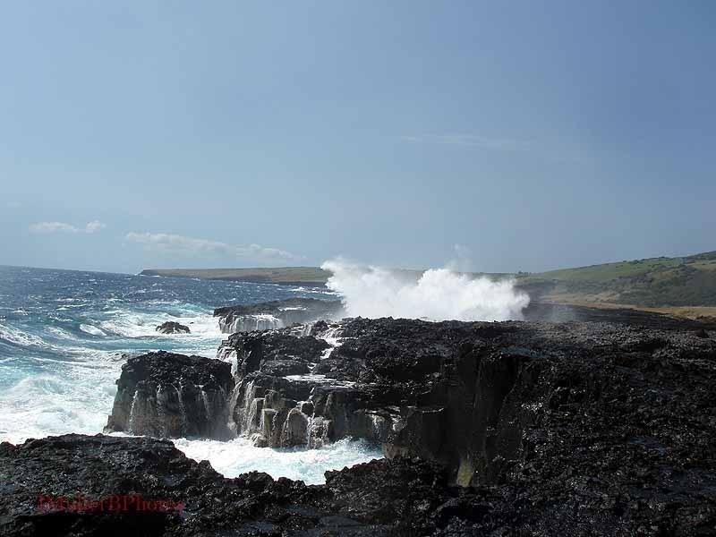 Crashing Surf, South Hawaii Coast - February 2009