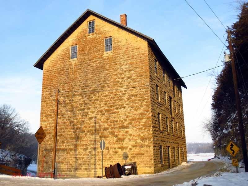 Mill Winter Light - January 8, 2013
