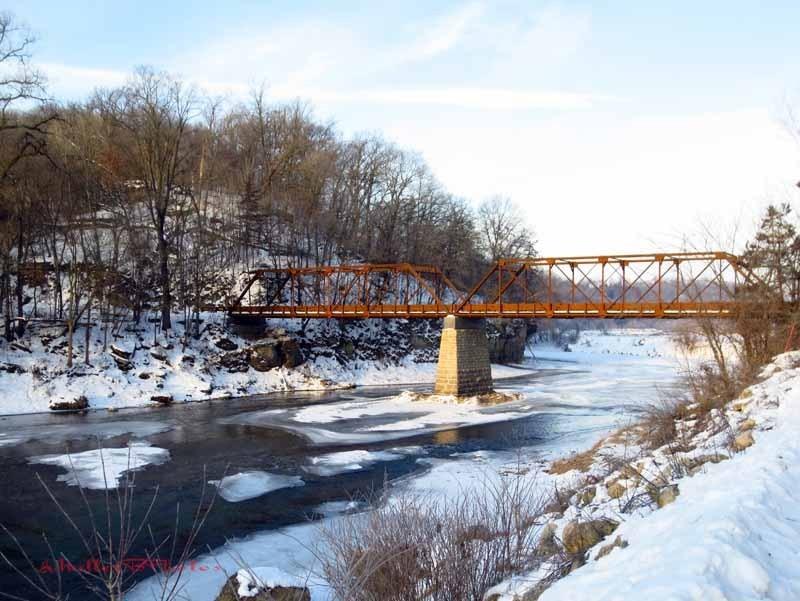 Motor Mill Bridge - January 2013