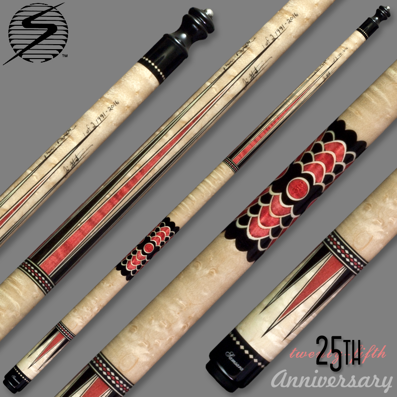 Samsara 25th Anniversary Cue - Red Wrapless Samsara25Red