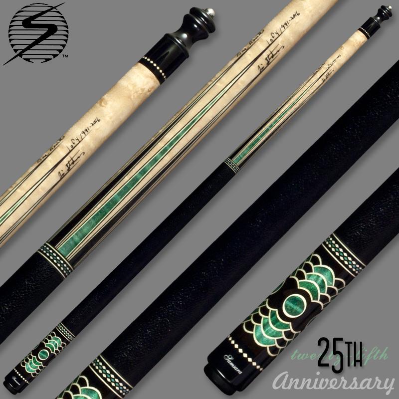 Samsara 25th Anniversary Cue - Green Wrapped Samsara25GreenWrap