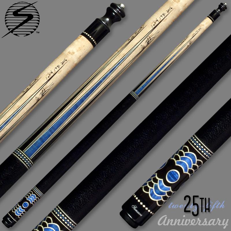 Samsara 25th Anniversary Cue - Blue Wrapped Samsara25BlueWrap