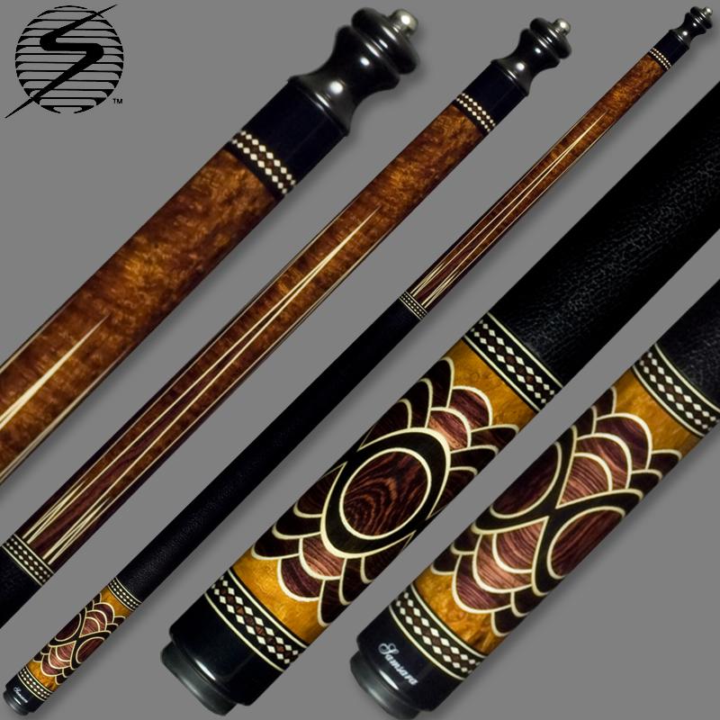 Samsara Original Cue #2390 - Desert Ironwood / Camatillo / Holly / Ebony SamsaraOrig-2390