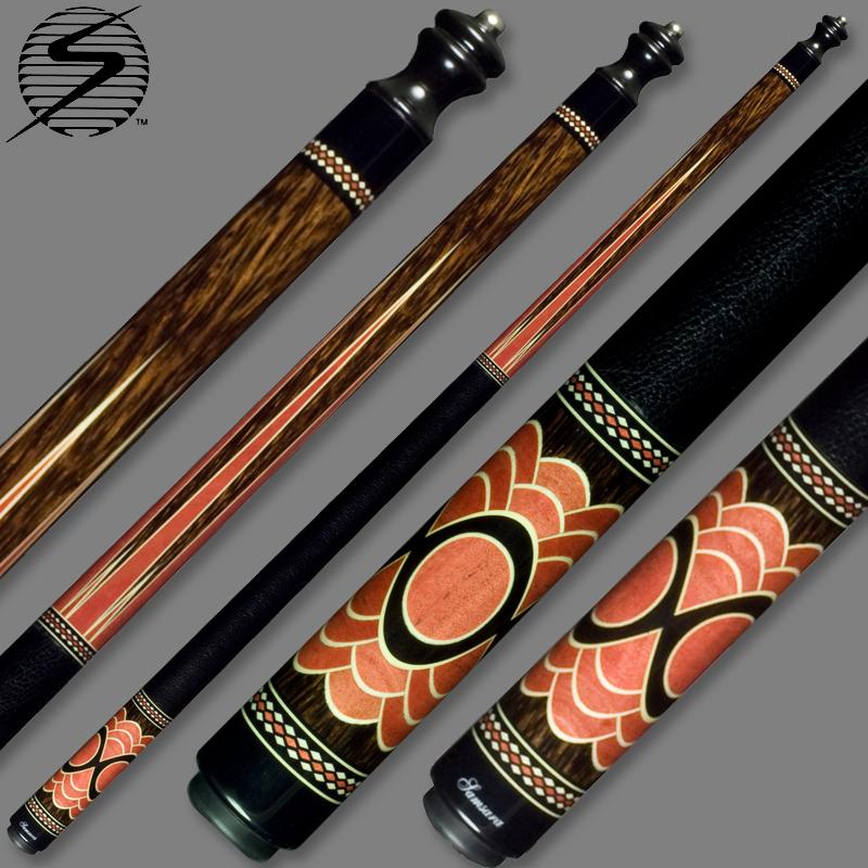 Samsara Original Cue #2391 - Black Palm / Pink Ivory / Holly / Ebony SamsaraOrign-2391
