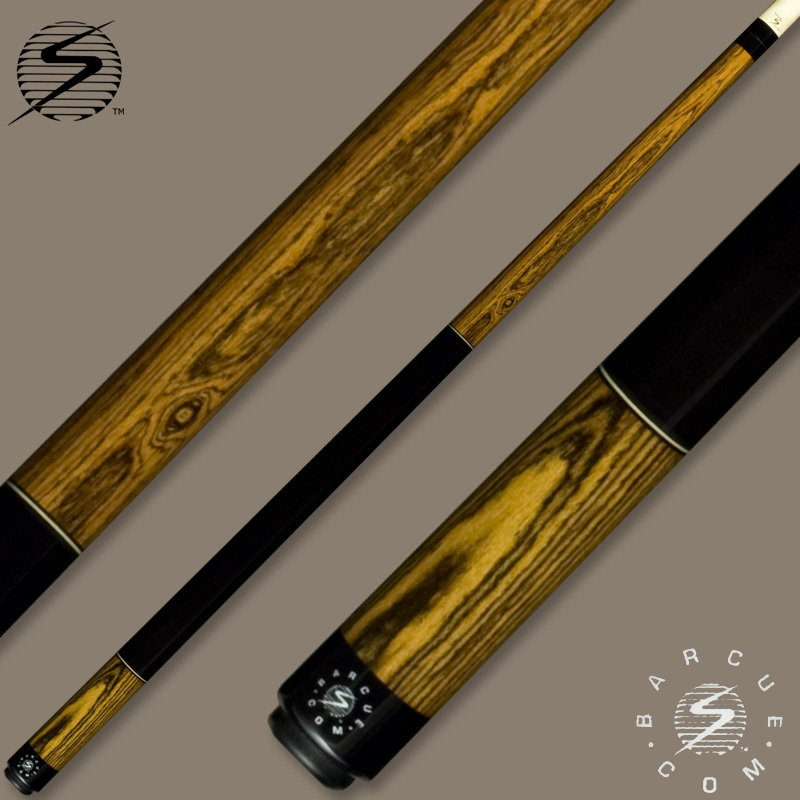 Samsara Bar Cue Series Bocote / Ebonized Wrap BQ-BO-EBW