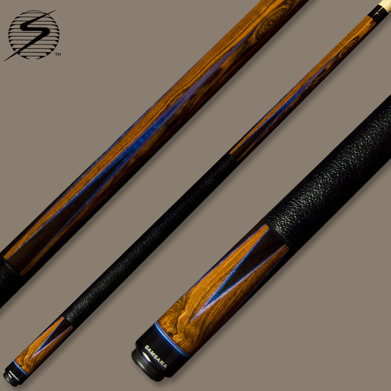 Samsara True Color Cue 518 - Fading Ebony Purple & Blue TC518