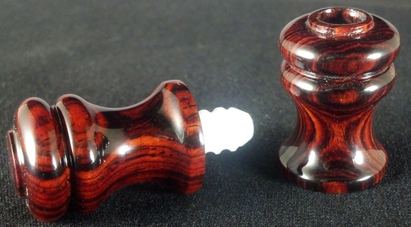 Joint Protectors - Maple, Black, or Cocobolo for Uniloc Pin