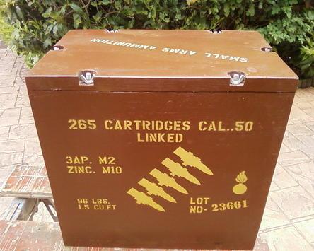 50 Cal linked box stencils set