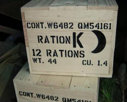 K Ration crate stencils inc plans to build stencil set for reenactors ww2 army prop