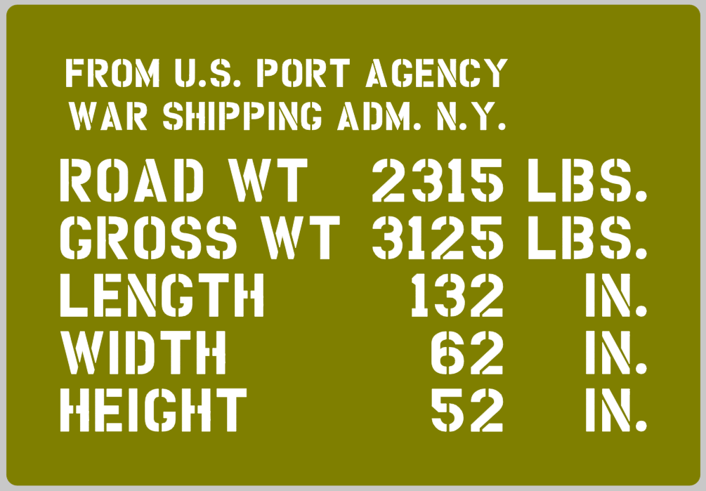 Jeep shipping detail stencil (full)