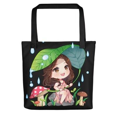 Shar Rain Tote bag Black
