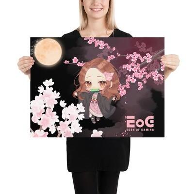 Sakura Shar Moon Poster