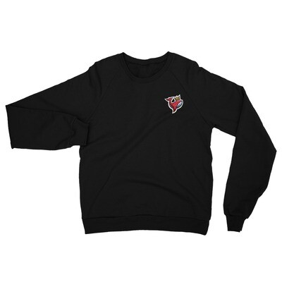 EoG Logo 100% Cotton Unisex California Fleece Raglan Sweatshirt