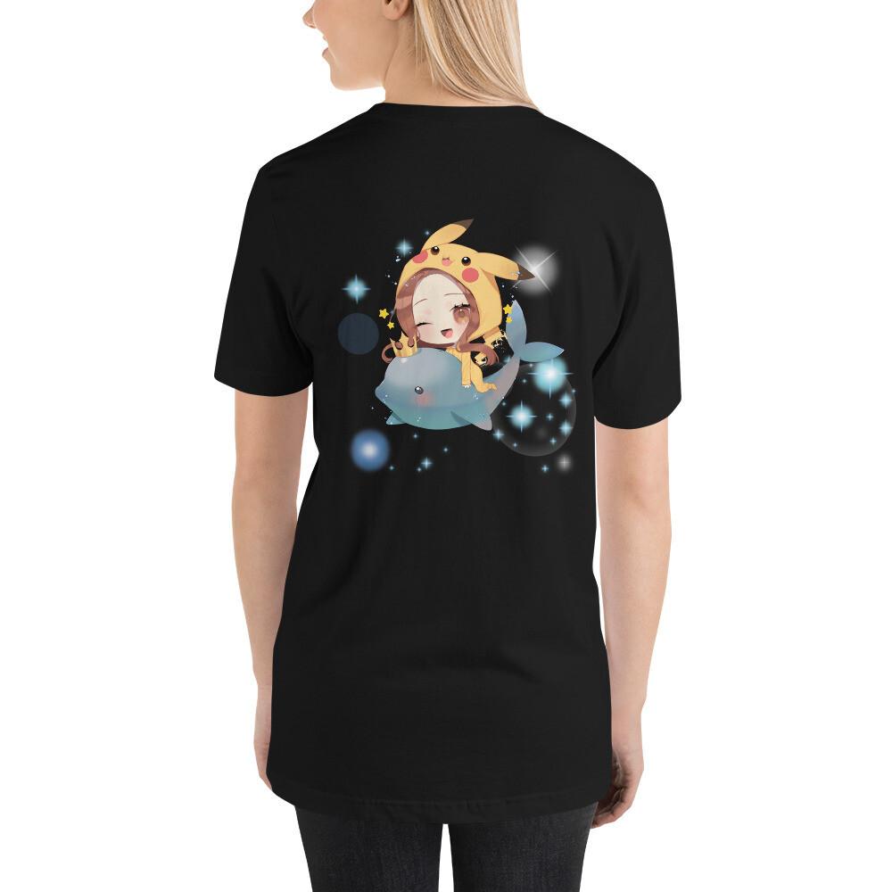 Shar Flying Dolphin Short-Sleeve Unisex T-Shirt