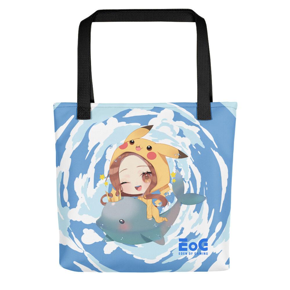 Shar Flying Dolphin Sky Tote bag