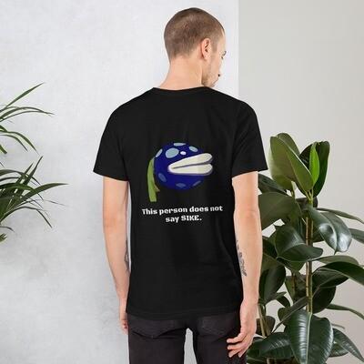 Mega does not say SIKE Short-Sleeve Unisex T-Shirt