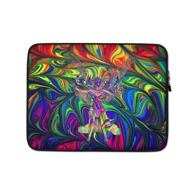 Psychedelic Fairy Laptop Case