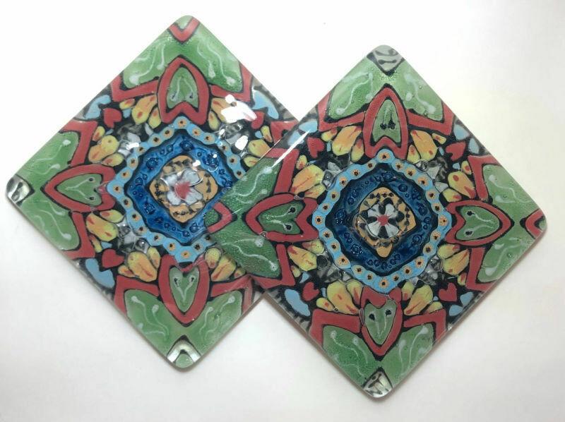 Pair of coasters