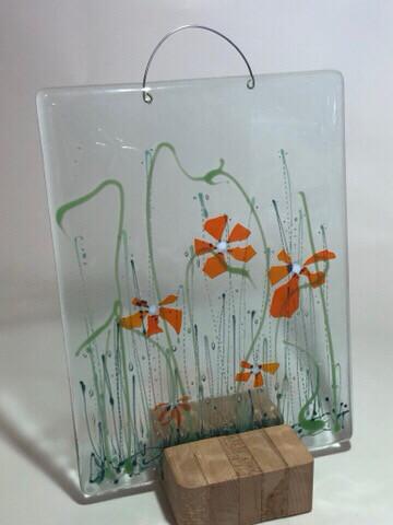 Orange Confetti Flowers