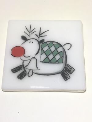 Happy Reindeer Coaster
