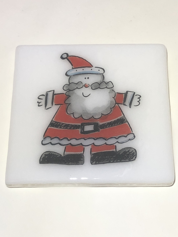 Happy Santa Coaster