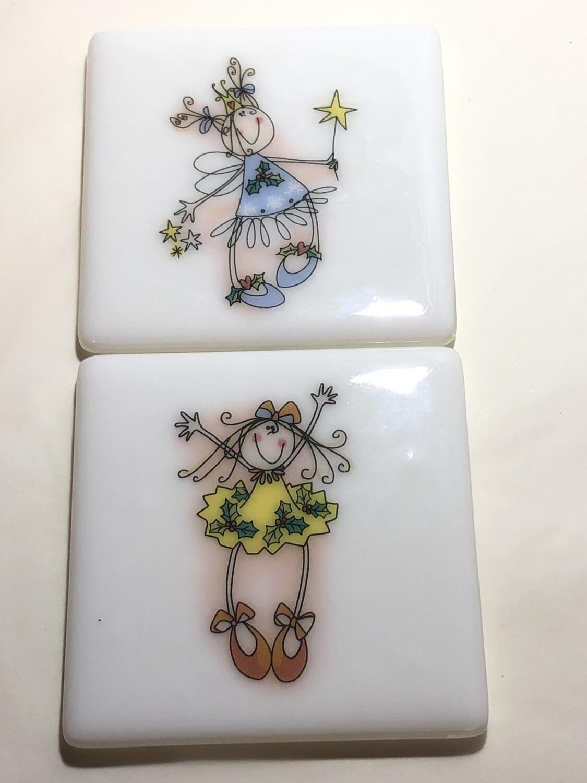 Fairy Set 2 Coasters