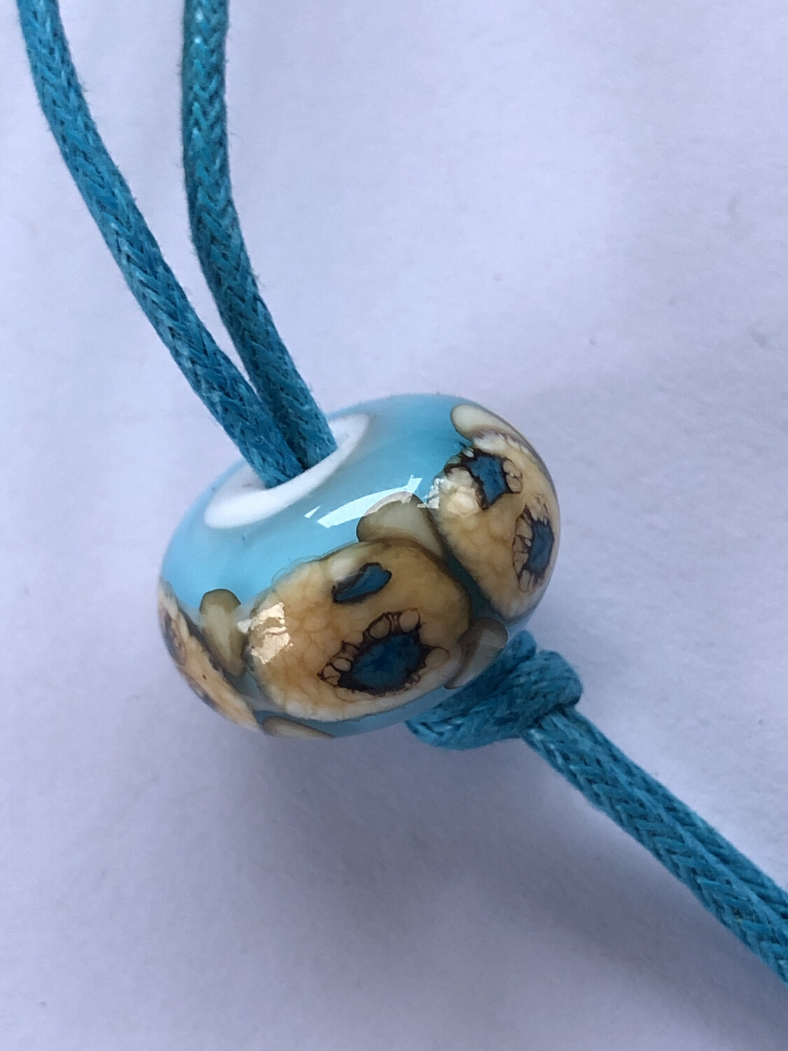 Turquoise Knotted
