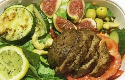 Steak & Vegetables / Pihvi ja vihannekset