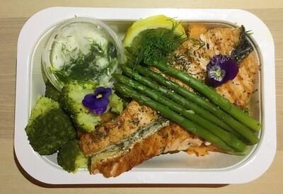 Salmon & Vegetables / Lohta ja vihanneksia