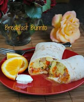 BREAKFAST BURRITO EGG