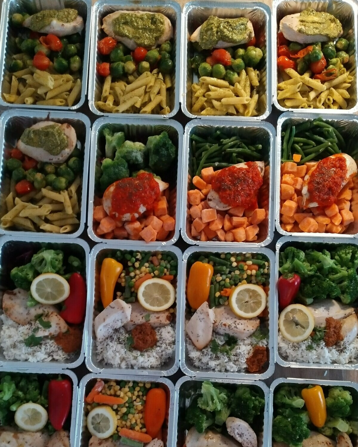 Muscle mass package basis 20 MEALS
