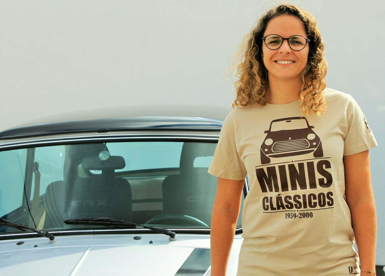 "T-shirt ""Minis Clássicos"" - 3 modelos disponíveis"