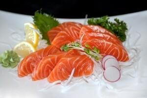 Salmon Sashimi (atlantic)