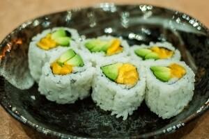 Mango Avocado Roll