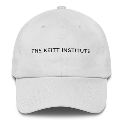 Keitt Institute Black Logo Dad Cap