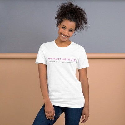 Keitt Institute Pink & Black Logo T-Shirt