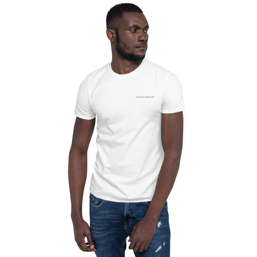 Gold Embroidered Keitt Institute T-shirt