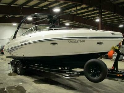 2010 RINKER CAPTIVA 276 CRUISER