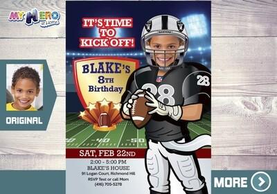 Oakland Raiders Party. American Football Party. Las Vegas Football Party. 419