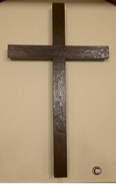 Hand Hewn  Rustic Beam Crosses -36