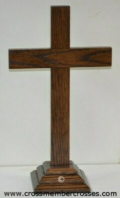 Traditional Wooden Table Crosses - 8