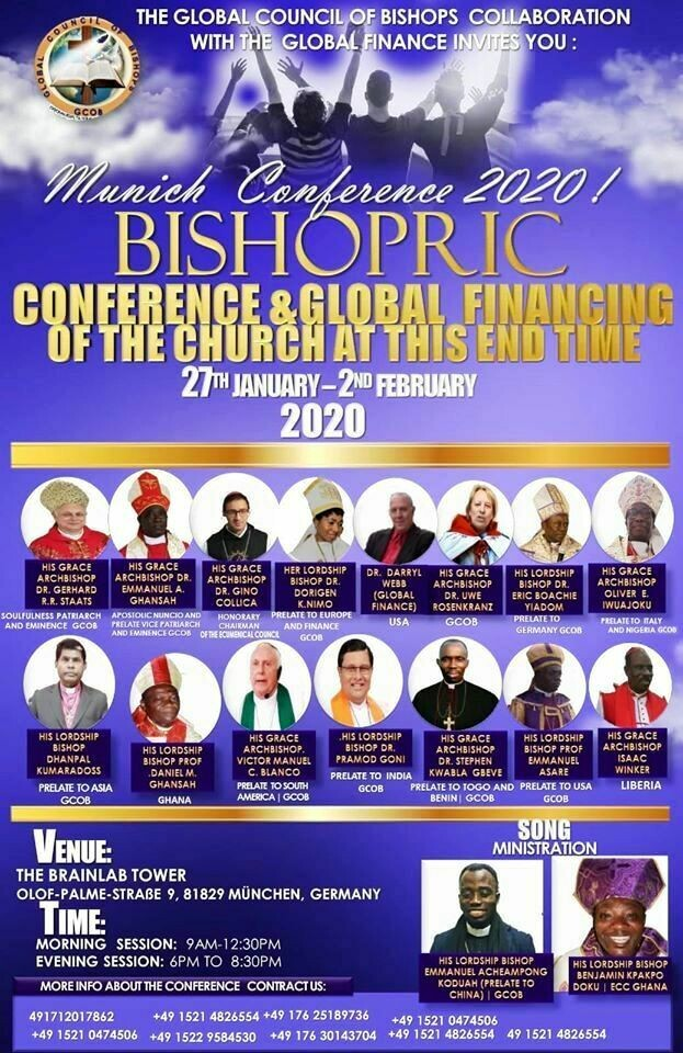 Conference-Tickets. Bible University