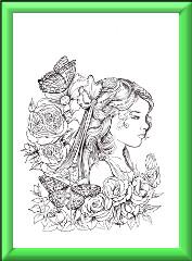 Fairy Children Digi Stamp 1