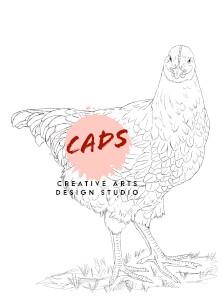 Chicken 1 Digi Stamps