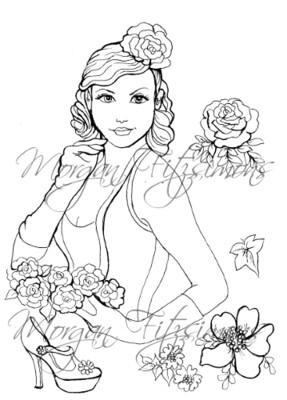 Wedding Digi Stamp 1