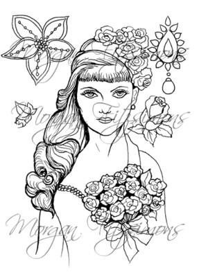 Wedding Digi Stamp 3