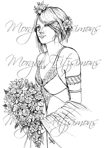 Wedding Digi Stamp 5