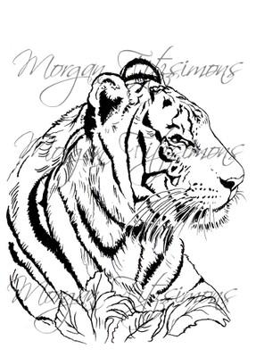 Tiger Digi Stamp 1