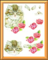 3D Kitten sheet 1